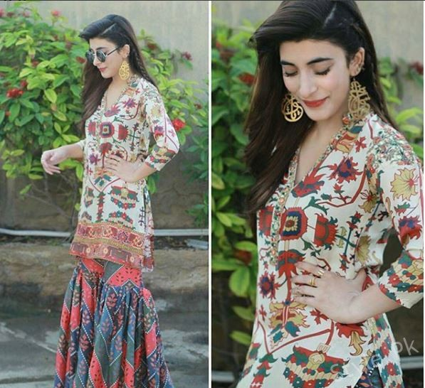 Urwa Hocane Looks Stunning In This Traditional Look For Rangreza Promotion