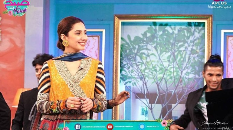 Mahira Khan At Morning Show For Promotion Of Her Movie 'Verna', Celebrities, celebrities News, celebrity , Celebrity News