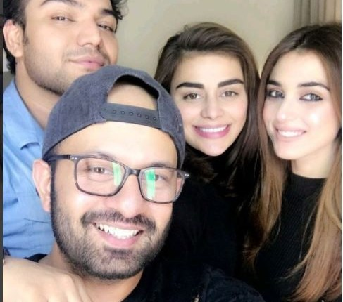 Recent Clicks Of Maya Ali With Anam Malik And Sadaf Kanwal