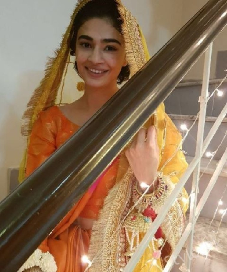 Model Saheefa Jabbar Khattak At Her Mayoun Ceremony