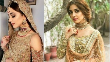 Maya Ali Recent Bridal Shoot For Faiza Saqlain, maya ali, famous maya ali, latest bridal shoot, beautiful maya ali shoot, bridal shoot