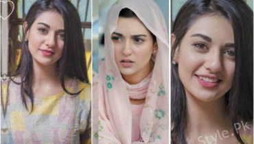 Beautiful Clicks Of Sarah Khan On Set Of Her Drama
