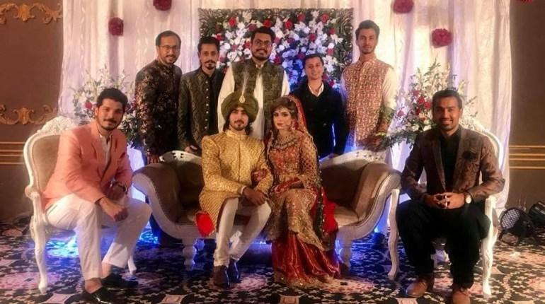 Actor Faraz Farooqui's Wedding Pictures