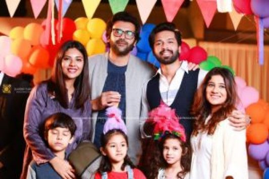 Fahad Mustafa Fahad Mustafa Celebrates His Kids' Birthday