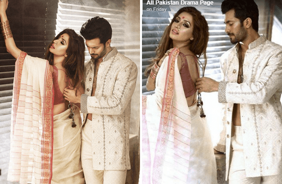 Iman Ali Sexy Photoshoot With Shahzad Noor Sparks Outage