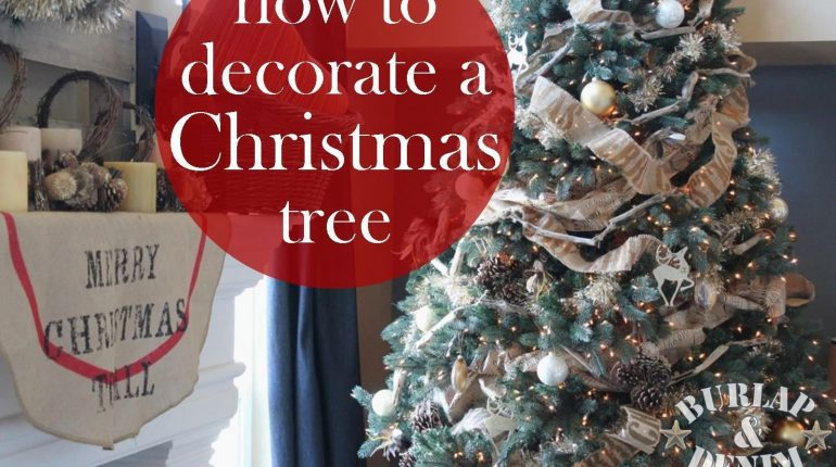 How To Decorate Christmas Tree On A Budget