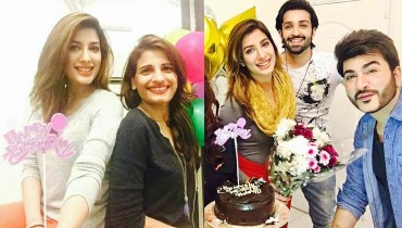 Pakistani Stars Wishes Mehwish Hayat On Her Birthday