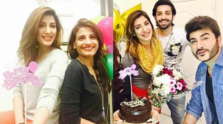 Pakistani Stars Wishes Mehwish Hayat On Her Birthday