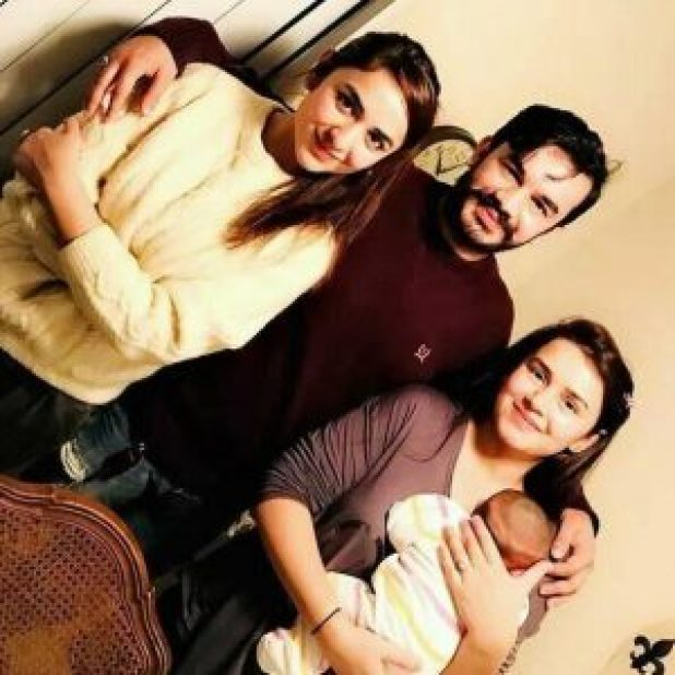 The Internet Is In Love With Yumna Zaidi's Cute Family