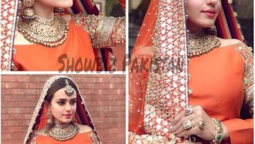 See Sumbal Iqbal looks Stunning in this Traditional Bridal Dress