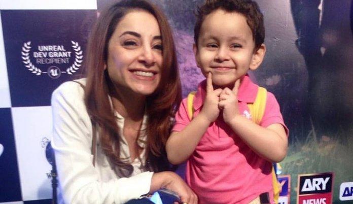 Sarwat Gillani And Fahad Mirza's Cute Son Rohan