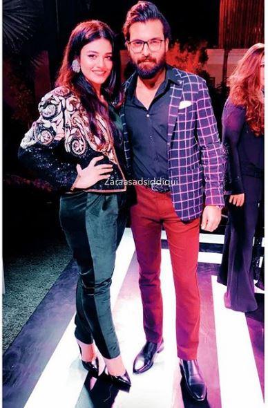 See Zara Noor Abbas and Asad Siddiqui at an Anniversary Party