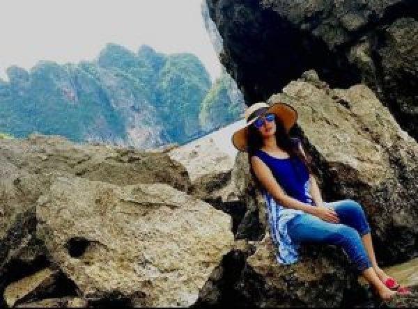 Beautiful Anum Fayyaz Enjoying Vacations in Thailand