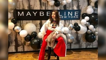 Ayesha Omar Is In Paris For Maybelline New York Fashion Week