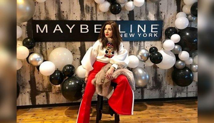 Ayesha Omar Is In Paris For Maybelline New York Fashion Week