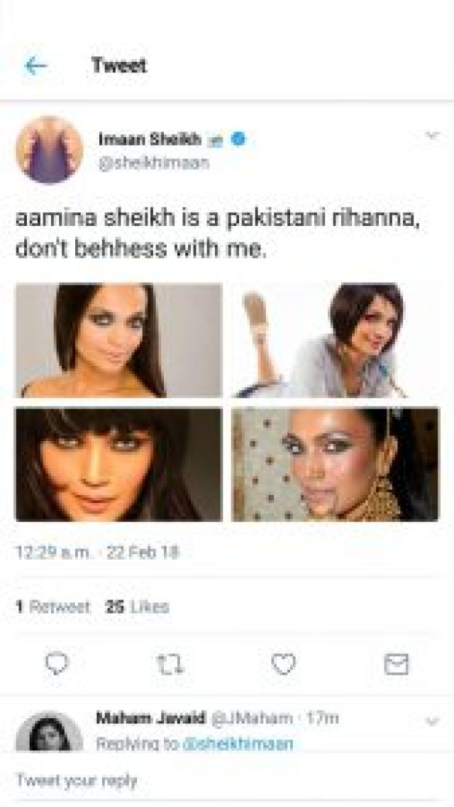 Amina Sheikh Looks Like Rihanna's Pakistani Lookalike In These Photos
