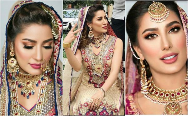 Latest Bridal Shoot Of Mehwish Hayat