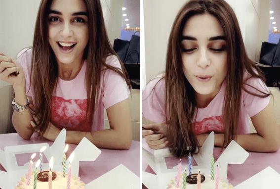Maya Ali Cute Birthday Video Message For Osman Khalid