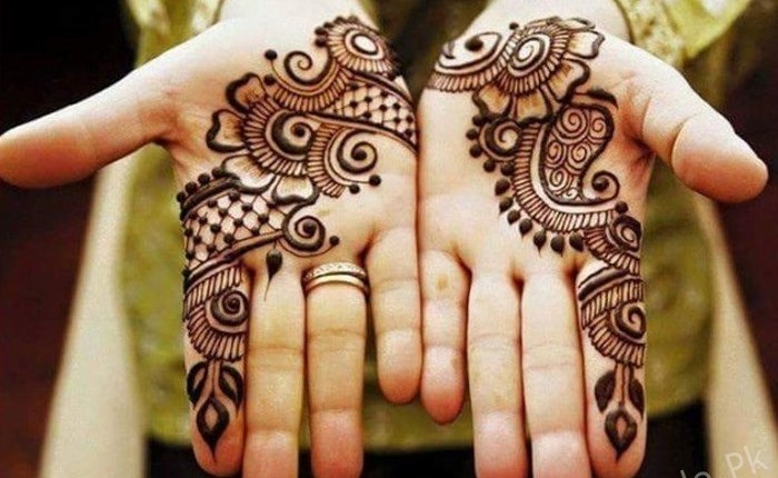 Latest Eid Ul Fitr Mehndi Designs 2018 For Hands Style Pk