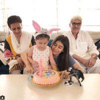 Syra Shehroz Celebrated her Birthday with her Family