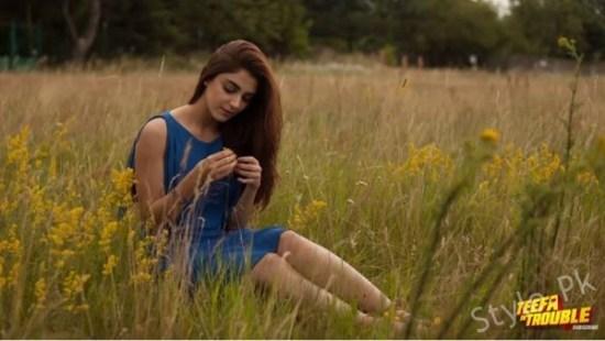 Pictures Of Maya Ali As Anya In Movie Teefa In Trouble