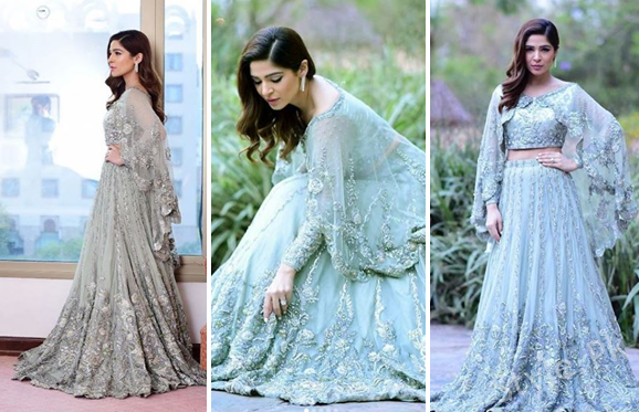 Beautiful Clicks Of Ayesha Omer Spotted At A Recent Event