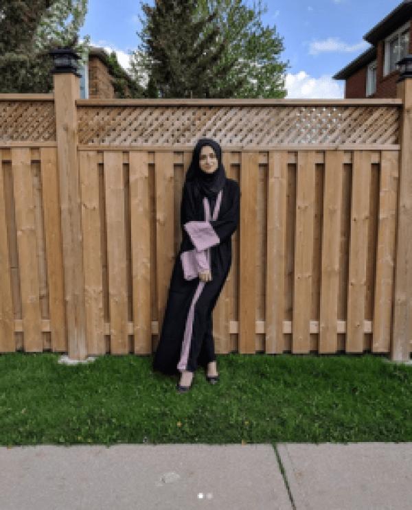 Beautiful Clicks Of Arij Fatyma With Her Husband In Canada