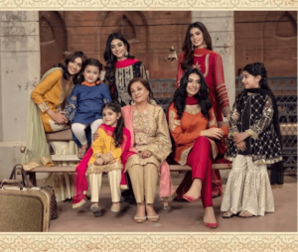 Pakistani Celebrities In New Eid Collection Of Maria B 2018