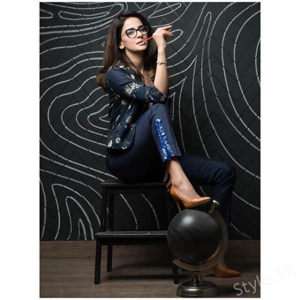 Saba Qamar Looks Funky In Her Latest Photoshoot