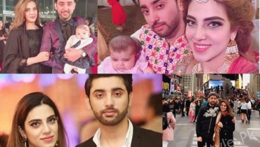 See Amanat Ali's Pictures with his wife and daughter