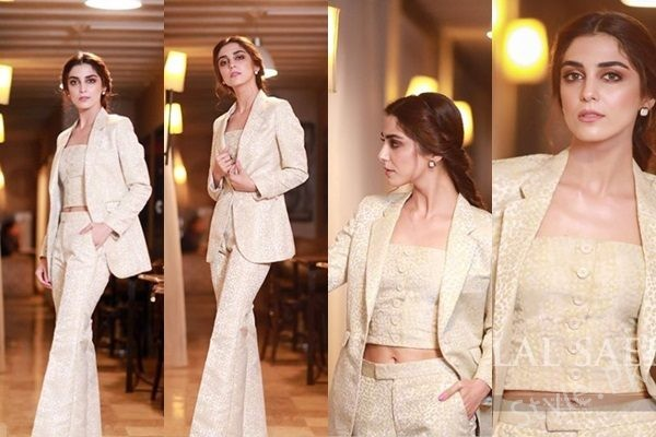 See Maya Ali at Lahore Premier of Teefa In Trouble