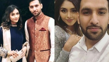 See Zaid Ali and his Wife at a Recent Wedding Event