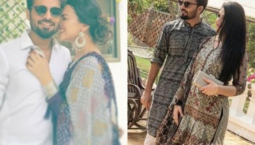 See Zara Noor Abbas and Asad Siddiqui Give us Major Couple Goals