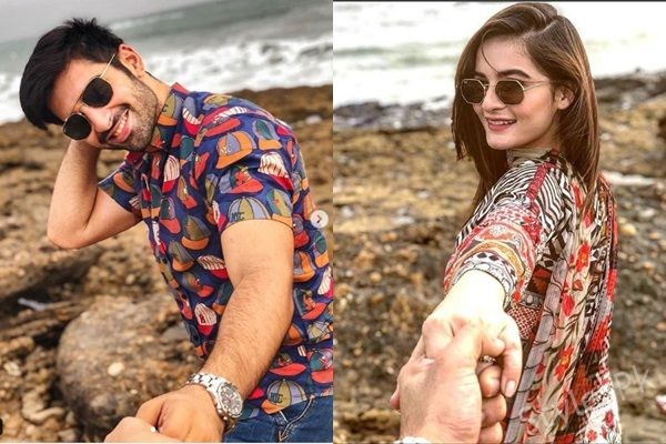 See Aiman Khan and Muneeb Khan are True Beach Lovers
