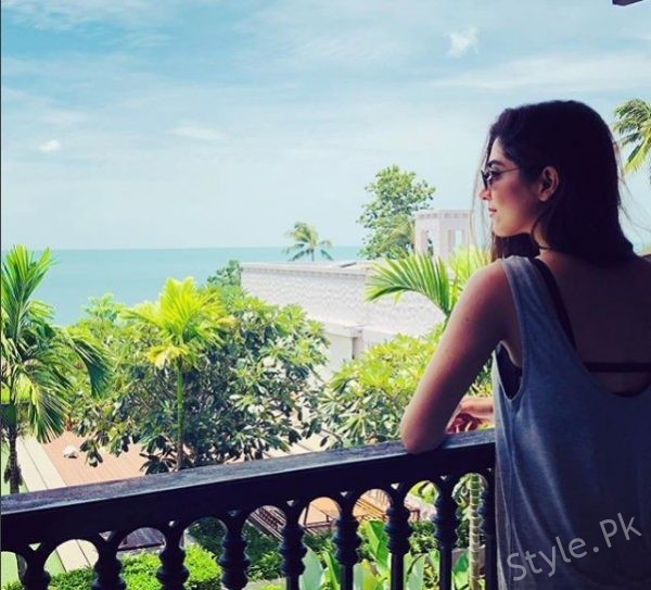 See Maya Ali Having Fun in Thailand with her Family