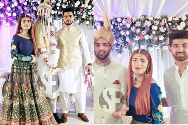 See Momina Mustehsan at her Brother's Wedding