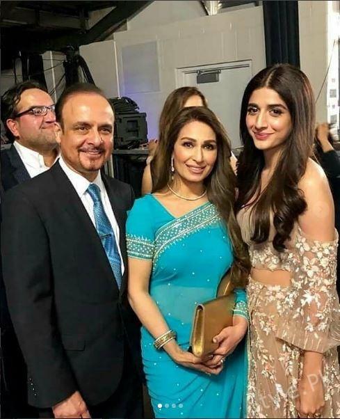 See Reema Khan with her Husband at 6th HUM Awards
