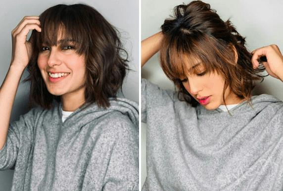 Iqra Aziz New Hair Style By Nabila Salon