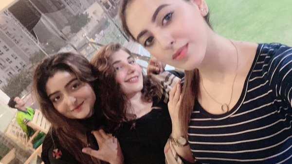 Salman Saeed together with Aleena at Javeria Saud House
