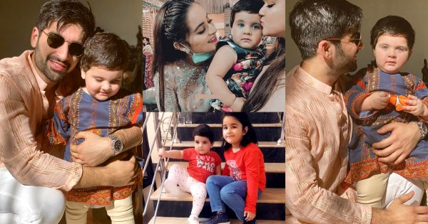 Latest Photos of Cute Aiman Khan's Daughter Amal Muneeb