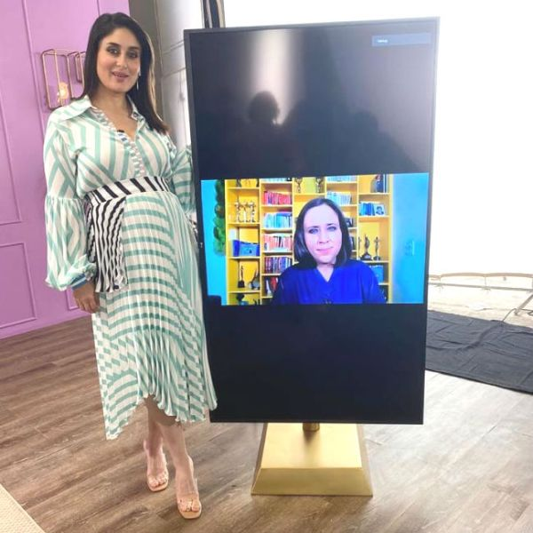 Kareena Kapoor Khan begins shooting for her talk show
