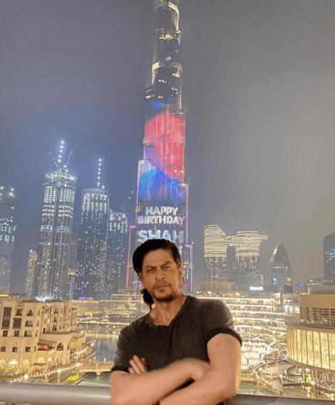 Burj Khalifa lights up for Shah Rukh Khan's 55th birthday