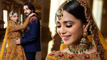Aima Baig and Shahbaz Shigri Pakistani Bridal Photoshoot