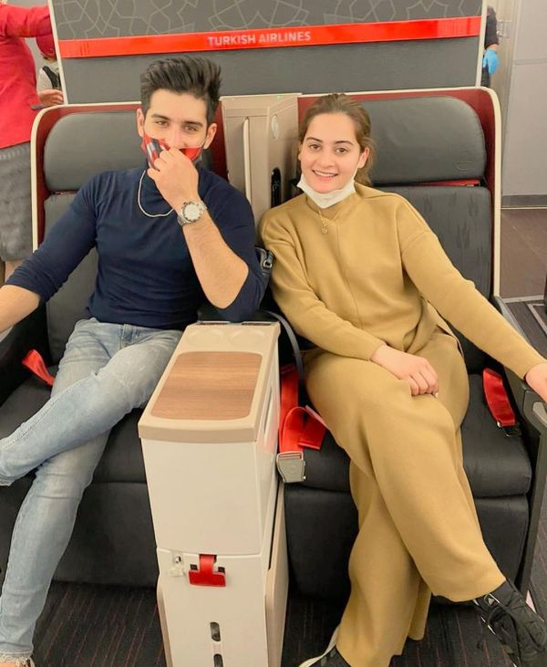 Aiman Khan and Muneeb Coming Back to Pakistan