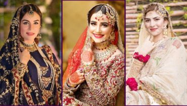 Top Bridal Dresses Worn By Pakistani Celebrities