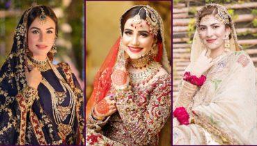 Top Bridal Dresses Worn By Pakistani Celebrities