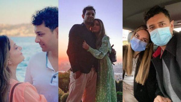 Armeena Khan Looks Gorgeous With Her Husband