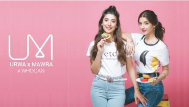 Urwa Hocane and Mawra Hocane Latest Shoot for their Brand