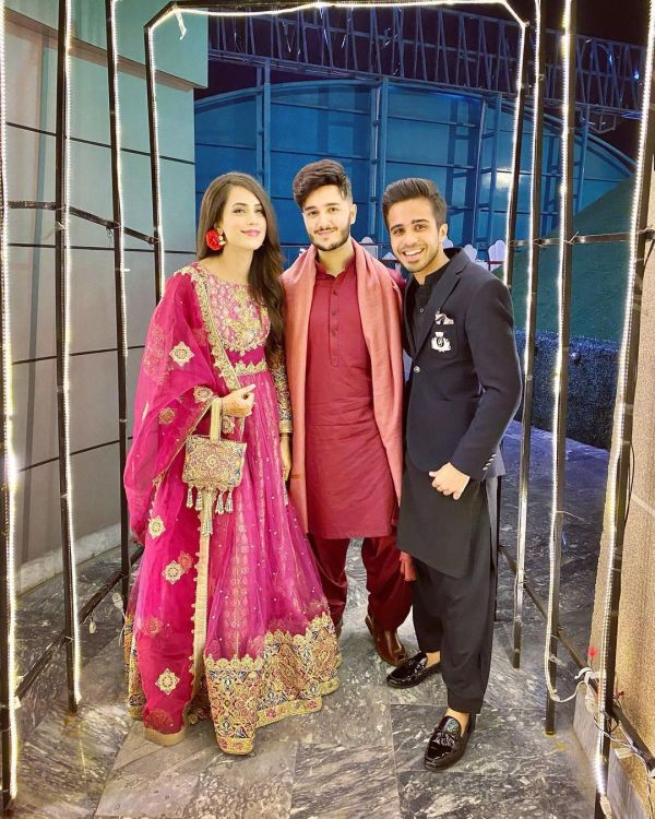 Shahveer Jafry And Ayesha Being Engagement Qawwali Night