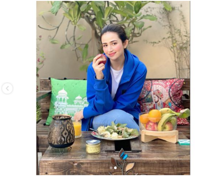 Actress Sana Javed Shares An Amazing Diet Plan